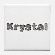 Krystal Wolf Tile Coaster