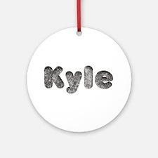 Kyle Wolf Round Ornament