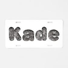 Kade Wolf Aluminum License Plate