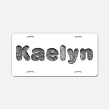 Kaelyn Wolf Aluminum License Plate