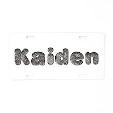 Kaiden Wolf Aluminum License Plate