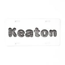 Keaton Wolf Aluminum License Plate