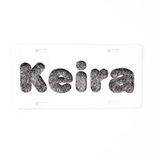 Keira Wolf Aluminum License Plate