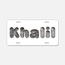 Khalil Wolf Aluminum License Plate