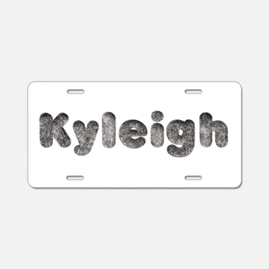Kyleigh Wolf Aluminum License Plate