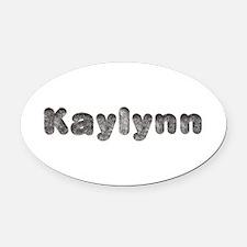 Kaylynn Wolf Oval Car Magnet