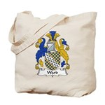 Ward Family Crest Tote Bag