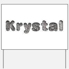 Krystal Wolf Yard Sign