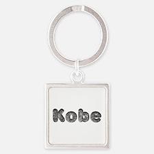 Kobe Wolf Square Keychain