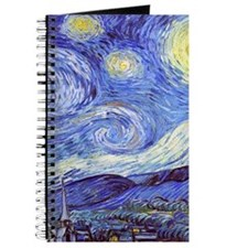 'The Starry Night' Van Gogh Journal