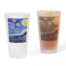 'The Starry Night' Van Gogh Drinking Glass