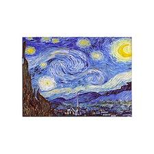 'The Starry Night' Van Gogh 5'x7'Area Rug