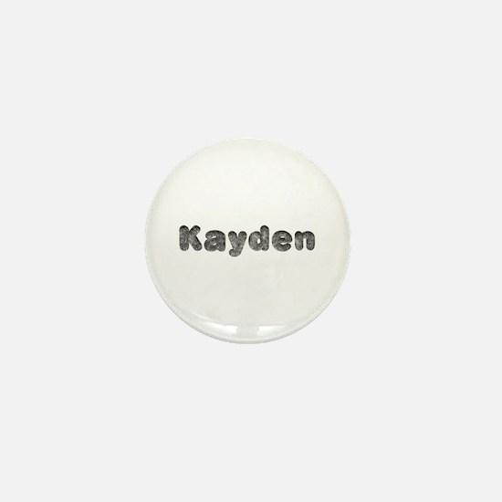 Kayden Wolf Mini Button