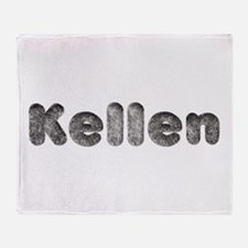 Kellen Wolf Throw Blanket