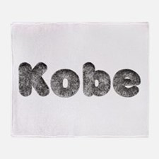 Kobe Wolf Throw Blanket