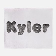 Kyler Wolf Throw Blanket