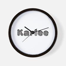 Karlee Wolf Wall Clock