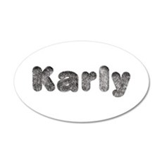 Karly Wolf Wall Decal
