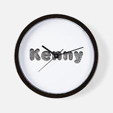 Kenny Wolf Wall Clock