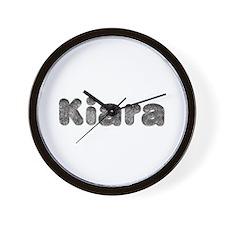 Kiara Wolf Wall Clock