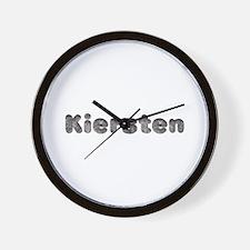 Kiersten Wolf Wall Clock