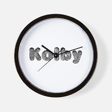 Kolby Wolf Wall Clock