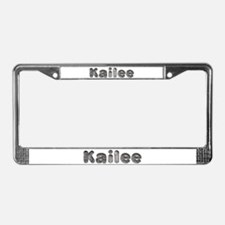 Kailee Wolf License Plate Frame