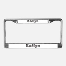 Kailyn Wolf License Plate Frame