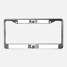 Kali Wolf License Plate Frame