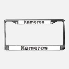 Kameron Wolf License Plate Frame