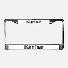 Karlee Wolf License Plate Frame