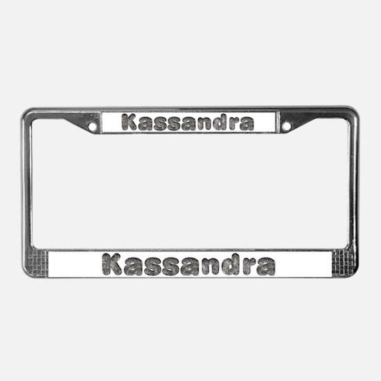 Kassandra Wolf License Plate Frame