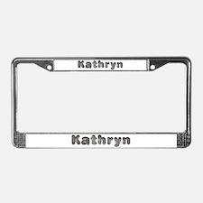 Kathryn Wolf License Plate Frame