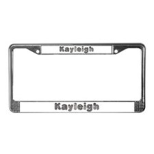 Kayleigh Wolf License Plate Frame