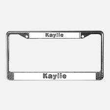 Kaylie Wolf License Plate Frame