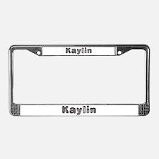 Kaylin Wolf License Plate Frame