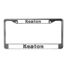 Keaton Wolf License Plate Frame