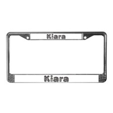 Kiara Wolf License Plate Frame