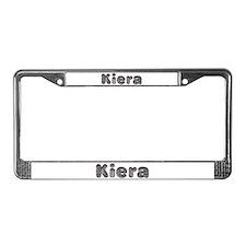 Kiera Wolf License Plate Frame
