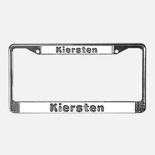 Kiersten Wolf License Plate Frame