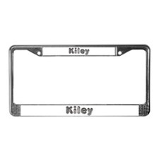 Kiley Wolf License Plate Frame