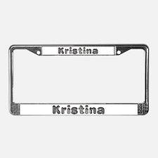 Kristina Wolf License Plate Frame