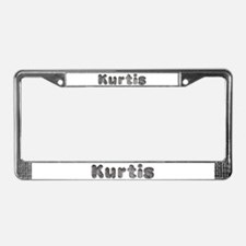 Kurtis Wolf License Plate Frame