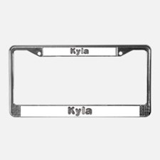 Kyla Wolf License Plate Frame