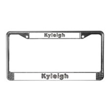 Kyleigh Wolf License Plate Frame