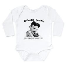 Tesla: Power Long Sleeve Infant Bodysuit