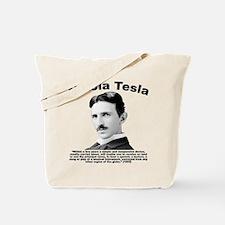 Tesla: Phone Tote Bag