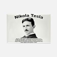 Tesla: Phone Rectangle Magnet