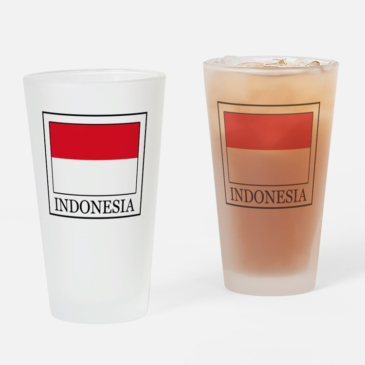 Indonesia Drinking Glass