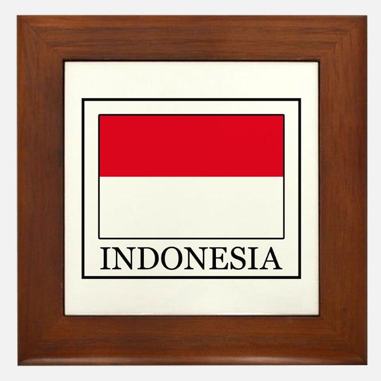 Indonesia Framed Tile